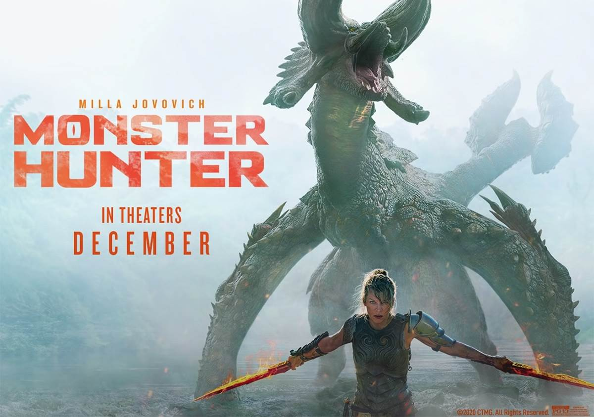 Monster Hunter (2020) Tamil Dubbed Movie HDRip 720p Watch Online (HQ Audio)