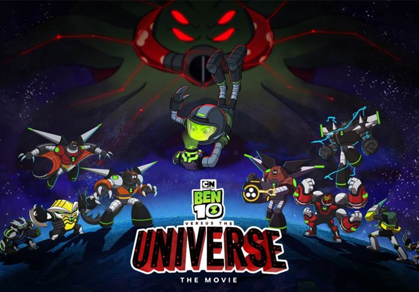 Ben 10 Versus the Universe (2020) Tamil Dubbed Movie HDRip 720p Watch Online