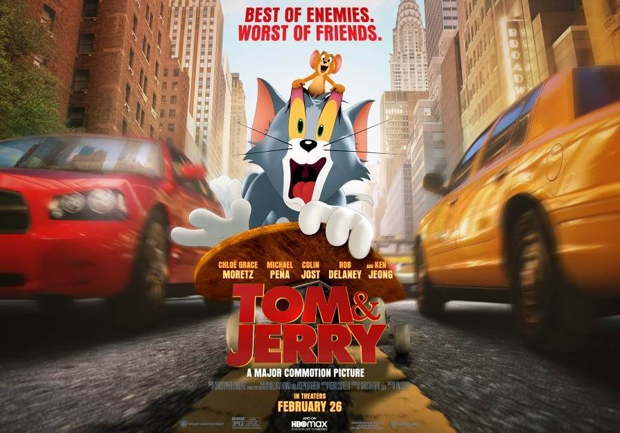 Tom and Jerry (2021) Tamil Dubbed Movie HDRip 720p Watch Online (HQ Audio)