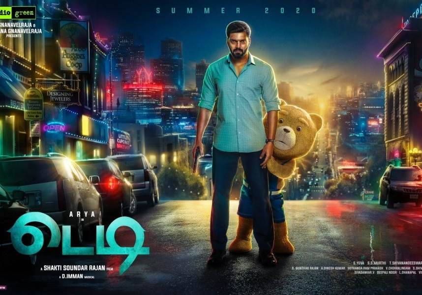 Teddy (2021) HD 720p Tamil Movie Watch Online