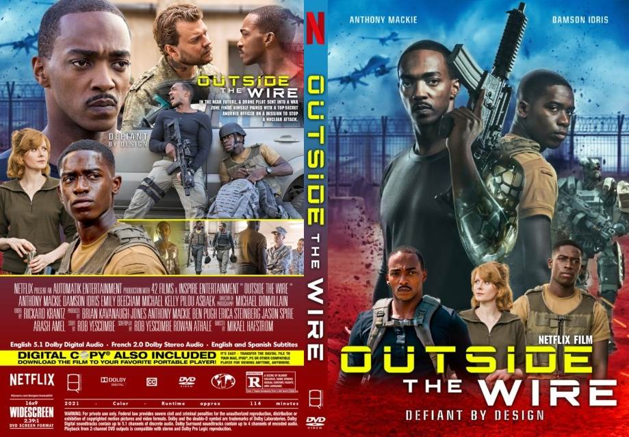Outside the Wire (2021) Tamil Dubbed(fan dub) Movie HDRip 720p Watch Online