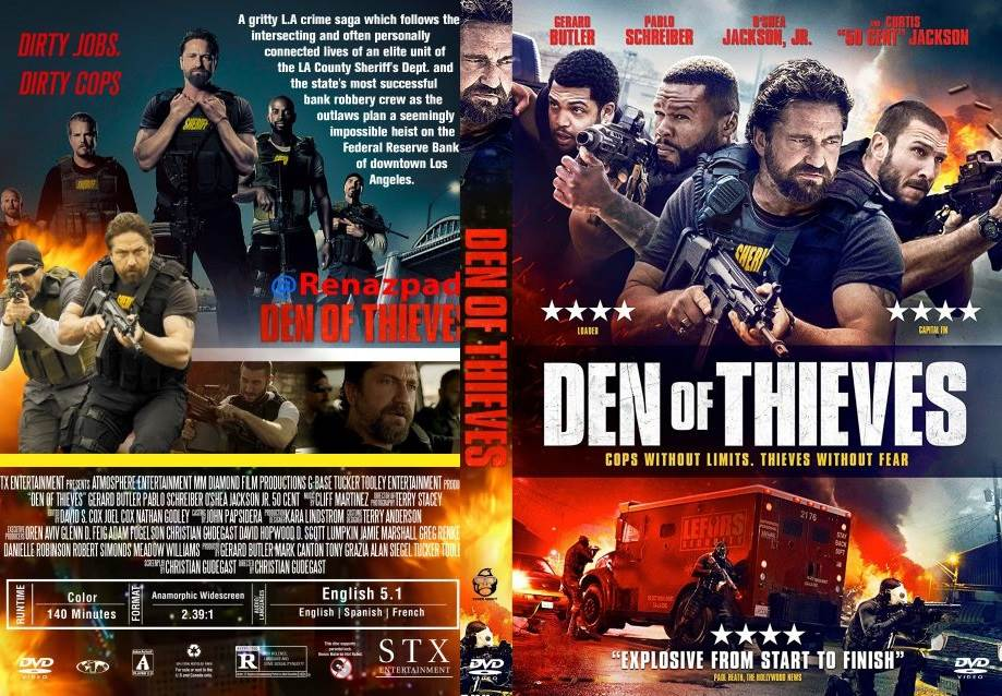 Den of Thieves (2018) Tamil Dubbed Movie HD 720p Watch Online