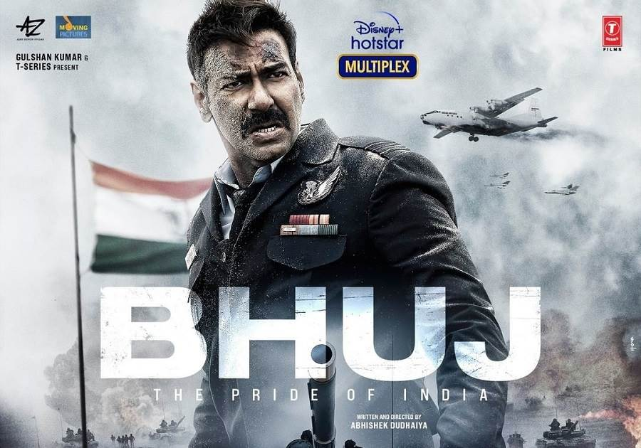 Bhuj: The Pride of India (2021) HD 720p Tamil Dubbed Movie Watch Online