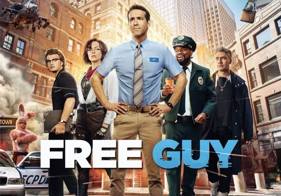 Free Guy (2021) Tamil Dubbed Movie HD 720p Watch Online
